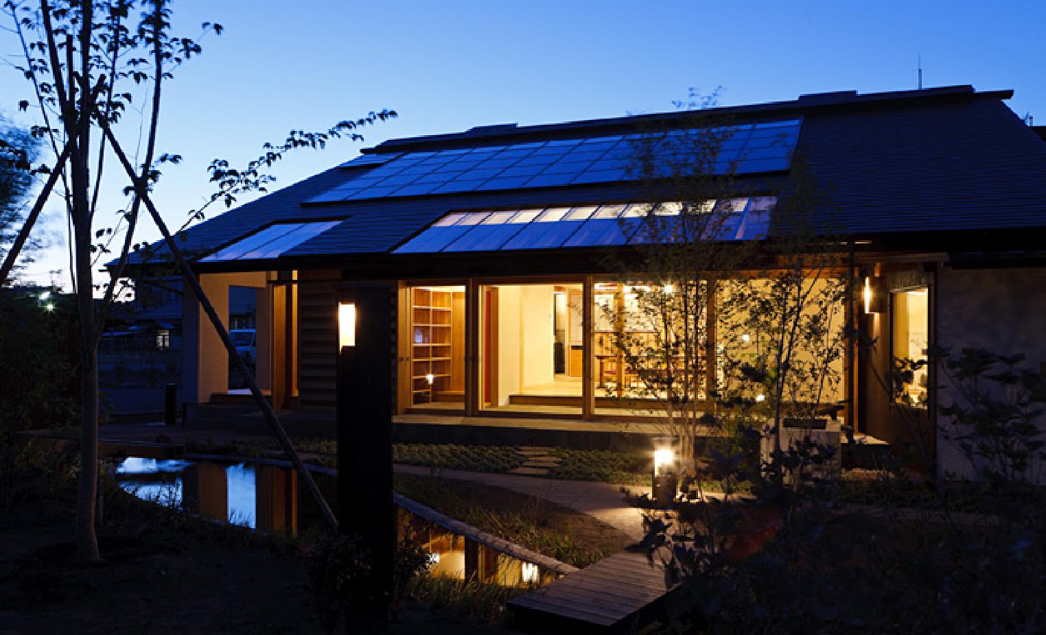熱も電気も、太陽エネルギーを最大限に活用