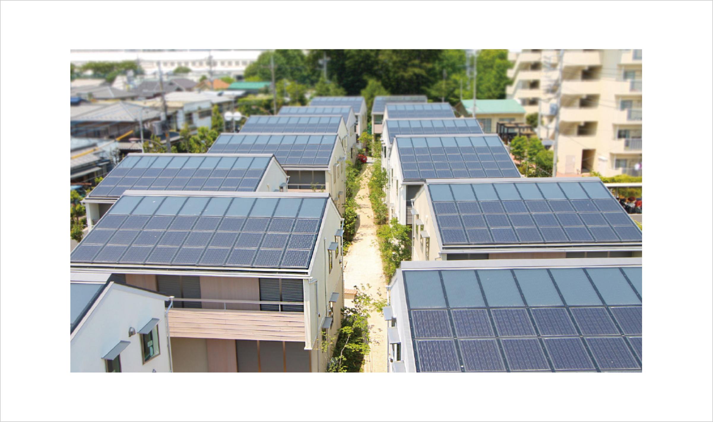 2020年GOOD DESIGN BEST100を受賞した「ソーラータウン府中」/2013年竣工